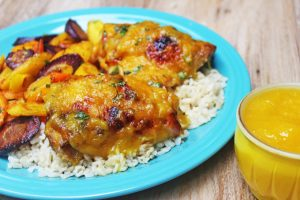 Habanero Mango chicken