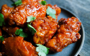 Chicken wings are a perfect memorial day recipe!