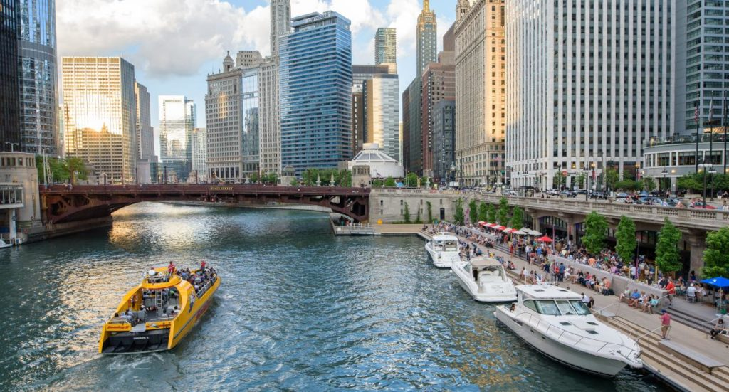 Chicago River, great for some Chicago Hot Sauce